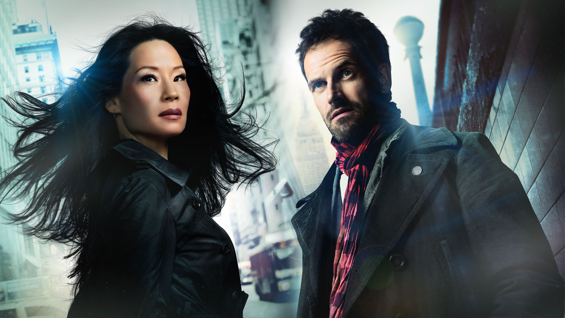 "CBS ""Elementary"" starring Lucy Liu as Joan Watson and Jonny Lee Miller as Sherlock Holmes"