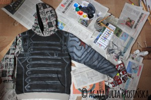 Winter Soldier Hoodie [work in progress]